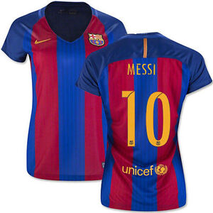 a1e62eb74 Image is loading NIKE-LIONEL-MESSI-FC-BARCELONA-WOMENS-HOME-JERSEY-