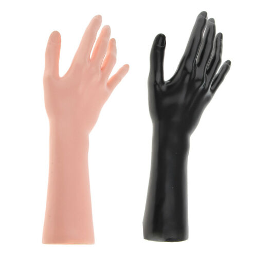 "13/"" Female Mannequins Right Arm Hand Jewelry Ring Glove Display Stand Holder"