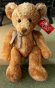 Rare Collectable Russ Berrie Bear Fraser No 24095 - Durham, United Kingdom - Rare Collectable Russ Berrie Bear Fraser No 24095 - Durham, United Kingdom