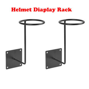 Image Is Loading Motorcycle Helmet Holder Rack Bike Helmets Storage Wall