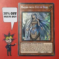 Yugioh Maiden with Eyes of Blue Secret Rare LCKC Lightly Played