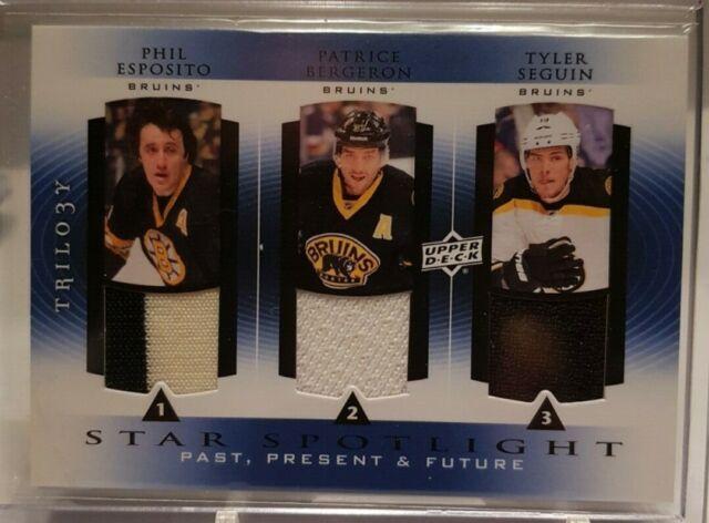 2013-14 Trilogy Star Spotlight Phil Esposito Bergeron Tyler Seguin Boston Bruins