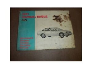 1991-Ford-Taurus-Sable-Electrical-Vacuum-Service-Manual