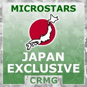 CRMG Corinthian MicroStars JAPAN MINIATURES inc CHASERS (like SoccerStarz)