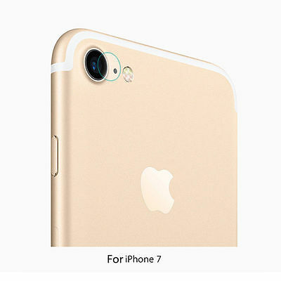 iPhone 7/7 Plus Tempered Glass Screen Protector Cover for Rear Camera Lens