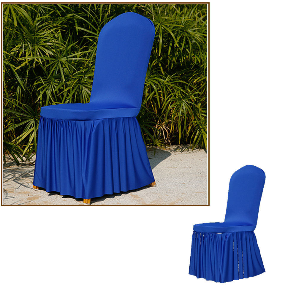 New Dining Room Wedding Banquet Stretch Chair Covers