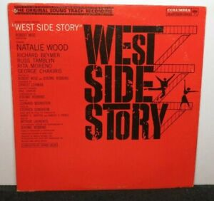 WEST SIDE STORY SOUNDTRACK (VG+) OL-5670 LP VINYL RECORD