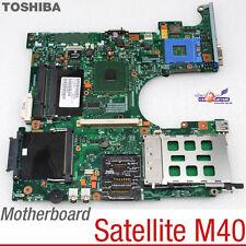 MOTHERBOARD V000080300 NOTEBOOK TOSHIBA SATELLITE M40 MB-PM94-5IN1-KSW NEW 83