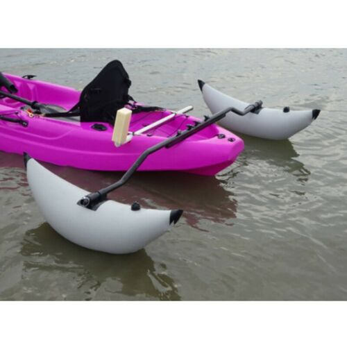 Inflatable Kayak Stabilizer Outrigger Canoe Fishing Standing Float Boat Buoy Kit