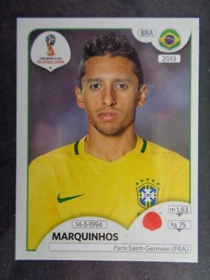 Panini WORLD CUP 2018 Rusia-Marquinhos Brasil Nº 359
