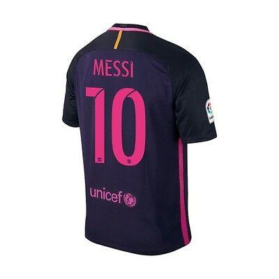 san francisco e526a 76d15 Nike FC Barcelona 2016 - 2017 Away Messi #10 Soccer Jersey ...
