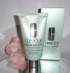 Image is loading Clinique-Redness-Solutions-Soothing-Cream-Gel-Cleanser-5oz- e9615705f7d4