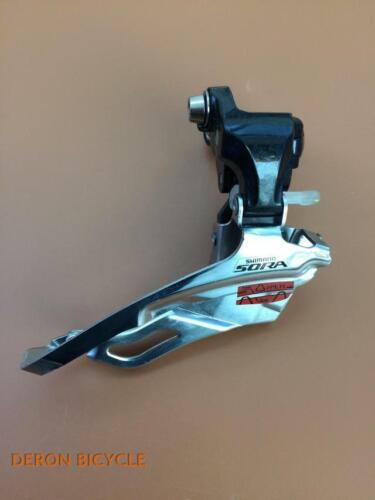 Shimano Sora FD 3503 Front Derailleur 3x9 Speed Clamp On 31.8mm Road Bike Triple