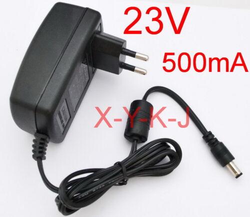 AC 100V-240V Adapter DC 23V 500mA Switching Power Supply EU plug 5.5mm 0.5A