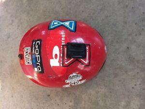 -Size Pro Tec Ace Helmet Gloss Red XXS