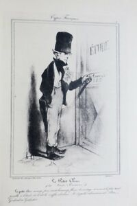 AgréAble Daumier, Peintre Et Lithographe. 1923