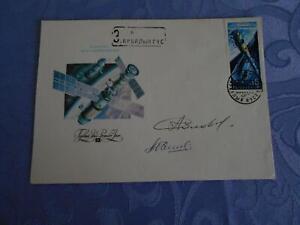 Sojus TM-9 Landung original signiert Solowjow,Balandin Space