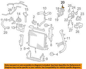 JAGUAR OEM 00-02 S-Type 4.0L-V8 Radiator-Housing Cap NCA2270AC