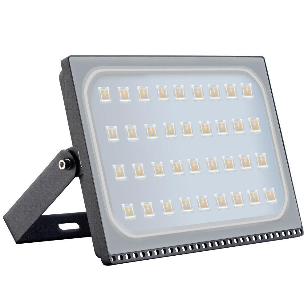 200W LED luz de inundación Trabajo De Seguridad blancoo Cálido Impermeable Al Aire Libre Iluminación AD
