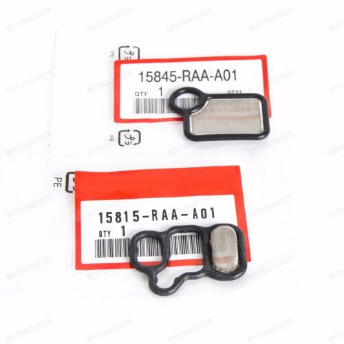 VTEC Solenoid Gasket And VTC Filter For Honda Accord K24A3 03-07 K24Z2 08-14