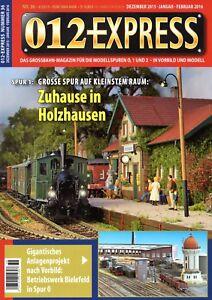 012 Express Nº 36 Grossbahn Magazine Piste 0, 1 Et 2 Top Neuf Les Produits Sont Vendus Sans Limitations