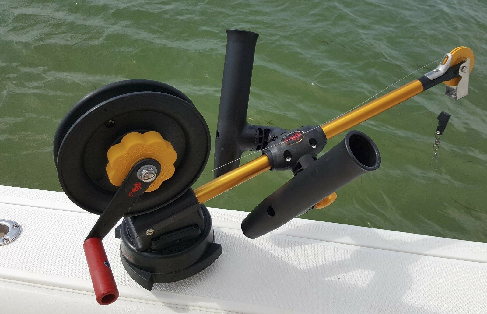 ADJUSTABLE Downrigger PENN CANNON SEAHORSE Downrigger ADJUSTABLE Dual Rod holder by Troll-Master bcc6fd