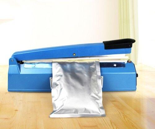 Brand New Impulse Sealer - 30cm (Heat Poly Bag Sealer Plastic ;Teflon Sealing 30cm Wrap)