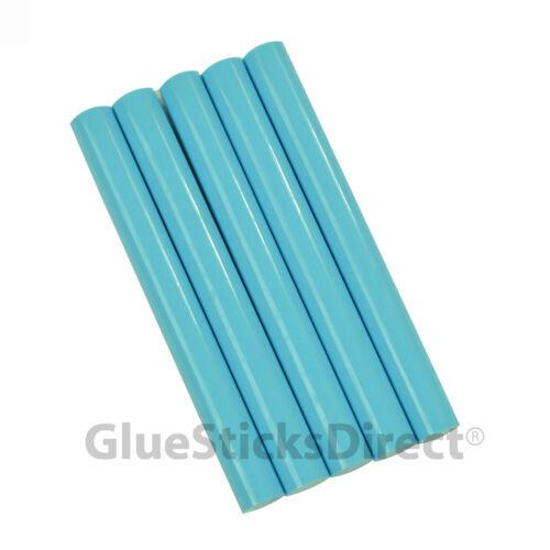 "GlueSticksDirect Turquoise Colored Glue Sticks 7//16/"" X 4/""   5 sticks"