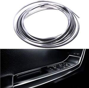 9mm x 6 meter zierleisten chrom auto selbstklebend universal neu 6 meter ebay