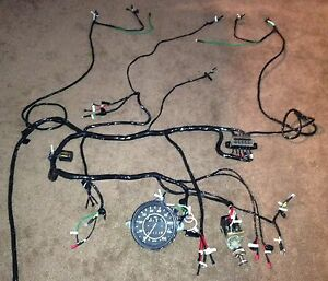 s l300 vw dune buggy harness finished! \