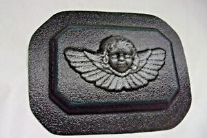 Angel-wall-plaque-mold-plaster-concrete-casting-mould-7-034-x-5-034-x-3-4-034-thick
