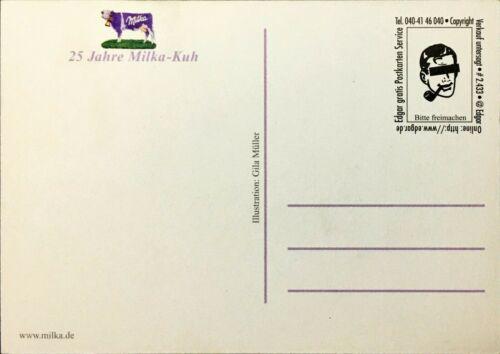 Milka 25 Jahre Kuh Kraft Jacobs Suchard Edgarkarte Edgarcard # 2.433
