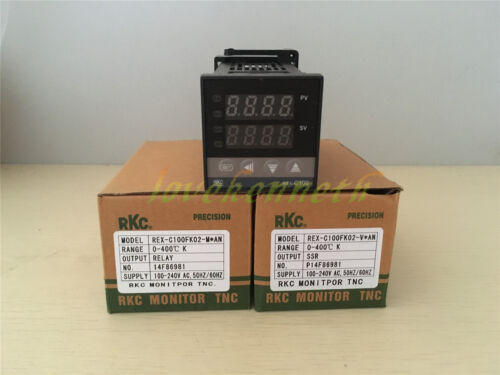 Digital PID Temperature Controller REX-C100 Thermocouple Input Relay//SSR Output