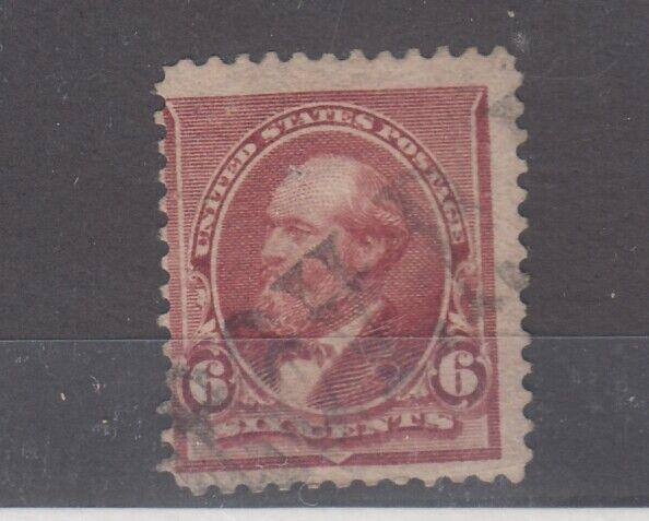 USA 1890 6c Garfield SG229 Fine Used JK2568