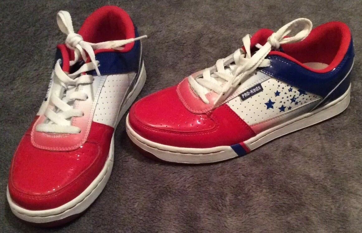 Mens Pro-Keds Patriotic (Red, White, & bluee) shoes Size 6