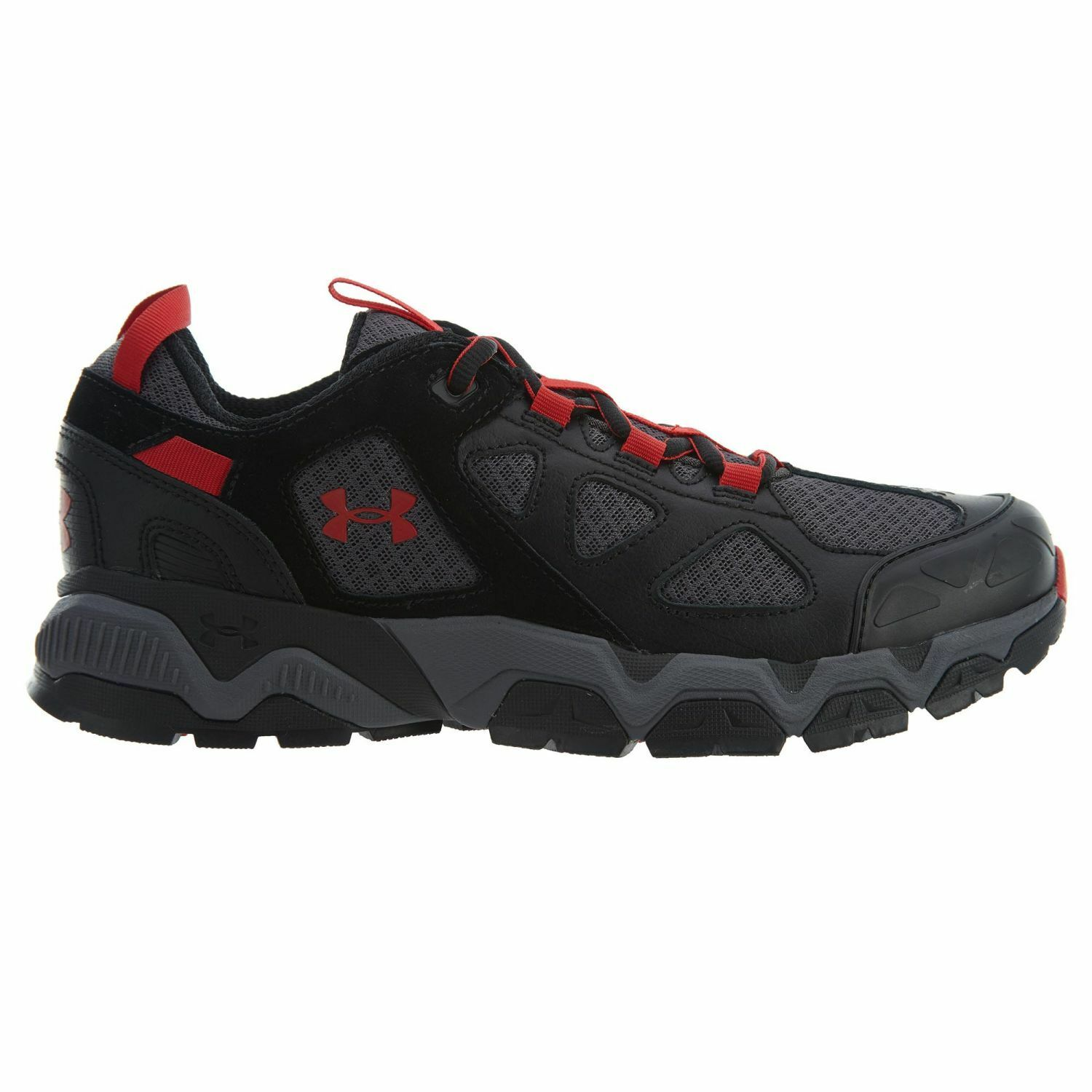 Under Armour Mirage 3.0 Mens 1287351-002 Black Grey Red Hiking Shoes Size 8