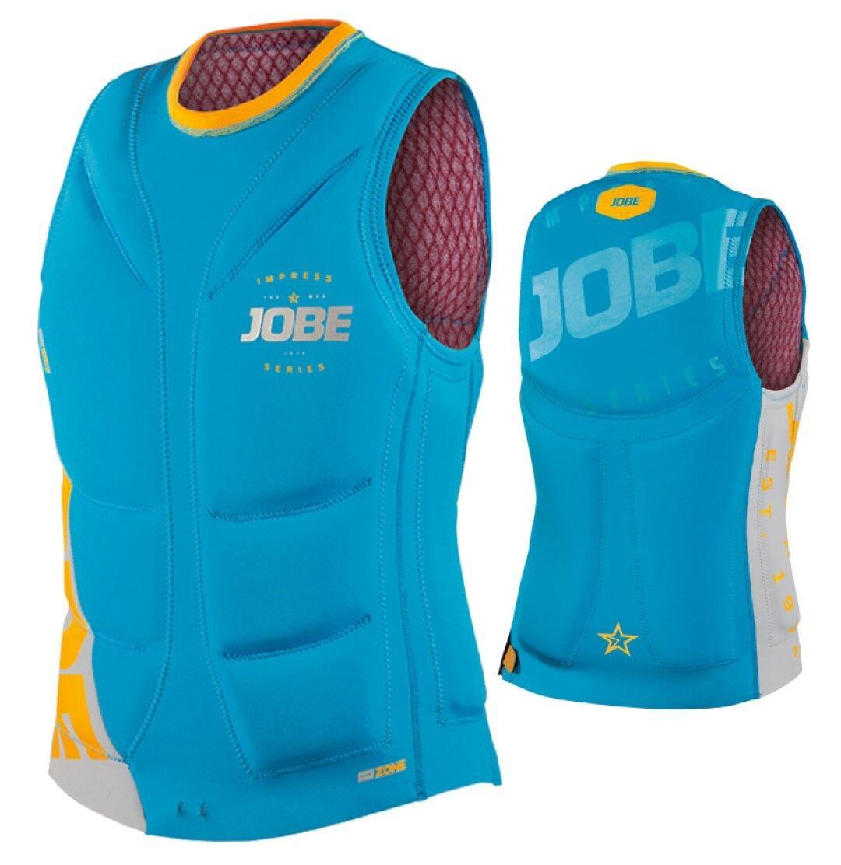 Jobe Impress Heat Seco comp Vest Men azul Chaleco Salvavidas wakeboard KITEN