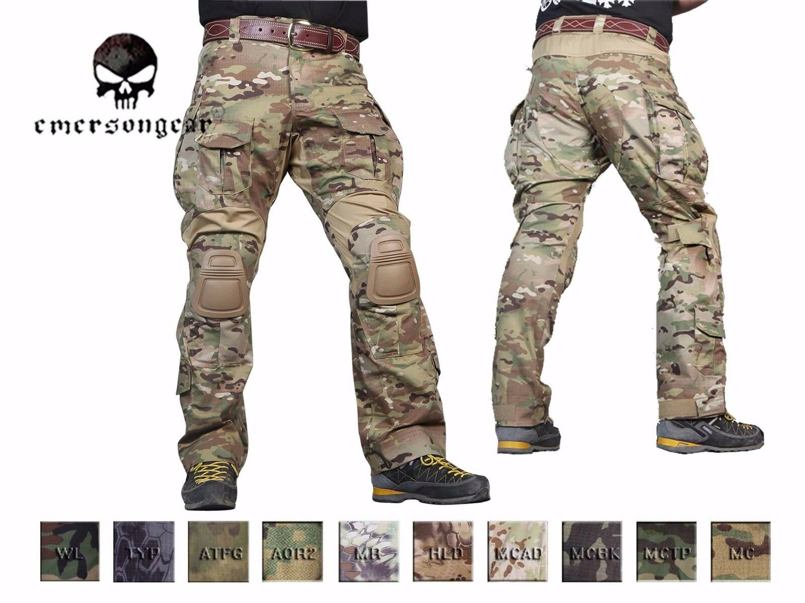Emerson Combat Gen3 Pants with Knee Pad Airsoft Hunting Tactical Pants