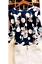 Shirt-Tunika-Schlupf-Blusenshirt-Crepe-Polkadots-dunkelblau-Gr-40-42-Neu