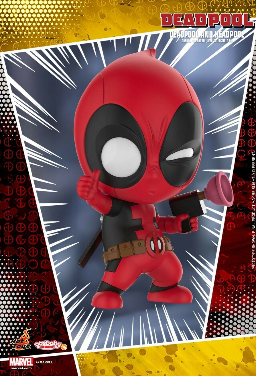 Hot Toys Deadpool 2 - Deadpool and Headpool COSB483