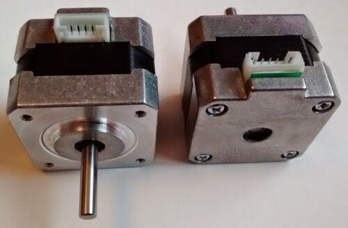 5mm Shaft Reprap CNC /& More 1.8deg 3D Printer Small NEMA17 Stepper Motors