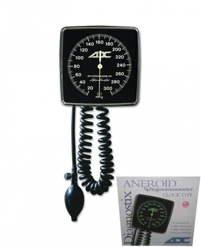 ADC Diagnostix 750W-11AB Wall Aneroid Sphygmomanometer Blood Pressure Monitor
