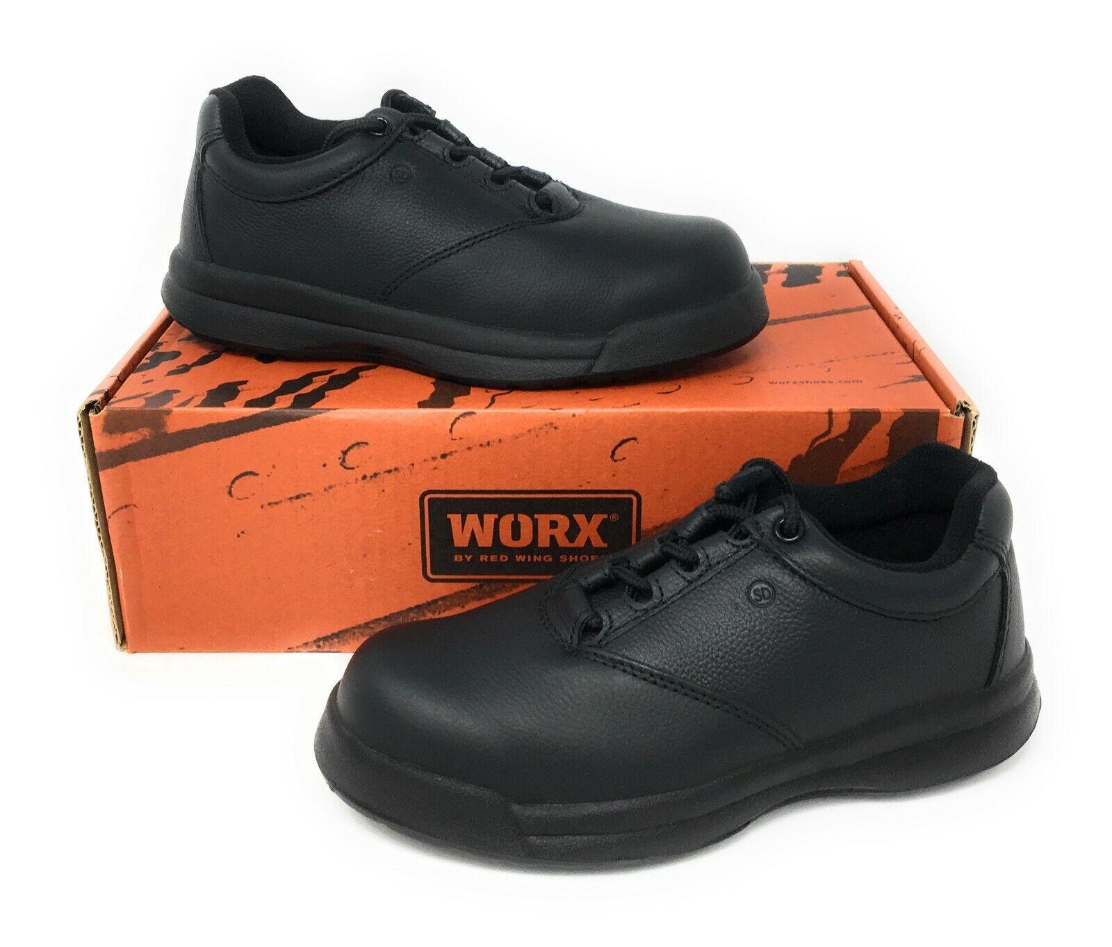 WORX 5430 Womens Black Leather Steel