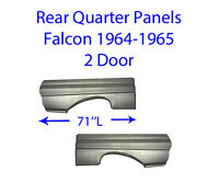 1964-65 Ford Falcon 2 Door Quarter Panel Pair Free Shipping