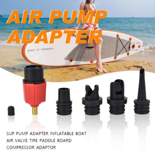 Kayak Inflatable Boat Sup Pump Adapter Air Valve Paddle Board Compressor UK