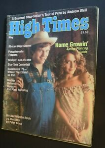 MB-126 High Times Magazine May 1976 Issue Home Growin, Star Trek Centerfold more