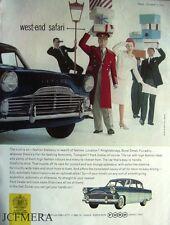 Ford 'Zodiac' 1960 Car Advert (523C) Original Auto Print Ad