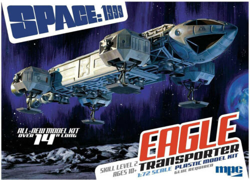 Moonbase Alpha Space:1999 EAGLE Transporter 1:72 MPC Model Kit Bausatz MPC913