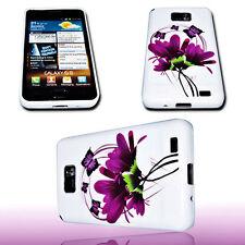 Design No.3 Silikon TPU Handy Hülle Cover Case für Samsung i9100 Galaxy S2