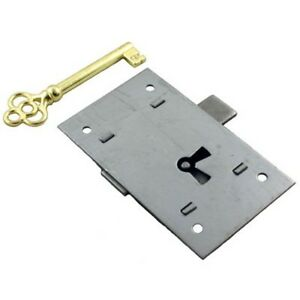 L 2 Flush Mount Steel Cabinet Door Lock Amp Skeleton Key Ebay
